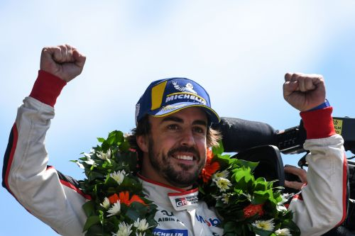 Former Formula One champion Fernando Alonso wins 24 Hours of Le Mans