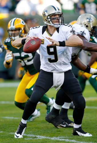When Packers look at Saints' Drew Brees, they still see Hall of Fame quarterback