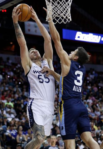 Clarke's double-double leads Grizzlies to title