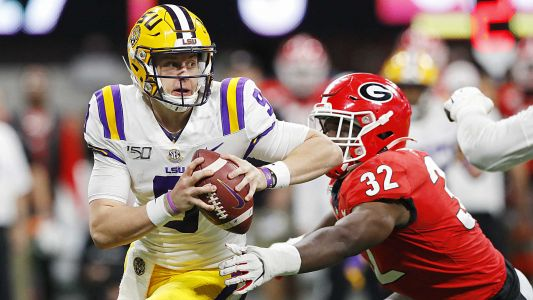 LSU's Joe Burrow makes case as College Football Playoff's most dangerous quarterback