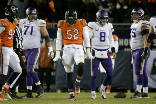 Khalil Mack, Bears overwhelm Vikings to build NFC North lead