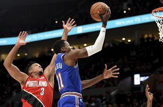 Reeling Knicks drop 10th straight, 115-87 to Trail Blazers