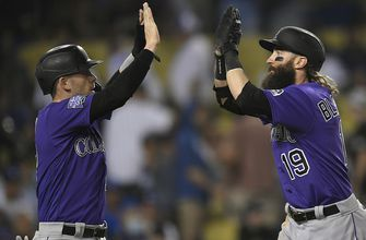 Dodgers' late-inning woes continue with 9-6 loss to Rockies
