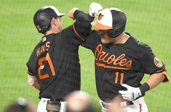 Pat Valaika's two homers help Orioles earn 6-1 win over Nationals
