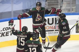Coyotes advance with 4-3 overtime win over Predators