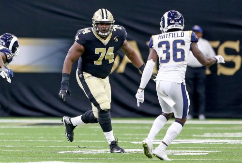 Back with the Saints, Jermon Bushrod sees action as sixth lineman