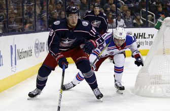 Vesey's shootout goal lifts Rangers over Blue Jackets