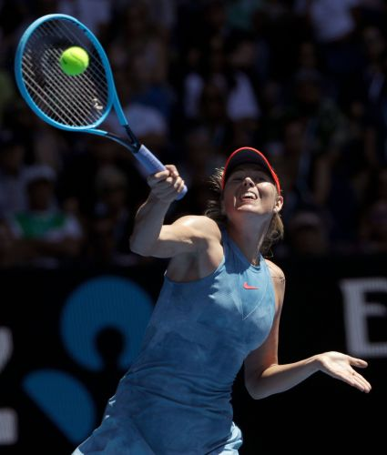 'Feisty' Collins stuns 2016 champ Kerber at Australian Open