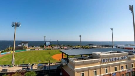 Double-A minor league baseball stadium listed on Airbnb for overnight rental