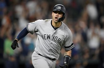Sanchez homers in 9th, helps rally Yankees past Orioles 10-7
