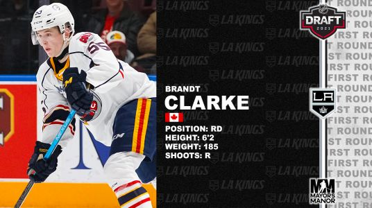 LA Kings Select Brandt Clarke No. 8 - What You Need to Know
