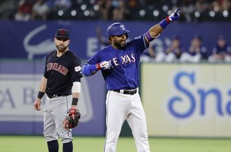 Rangers spoil Clevinger's return with 7-2 win over Indians