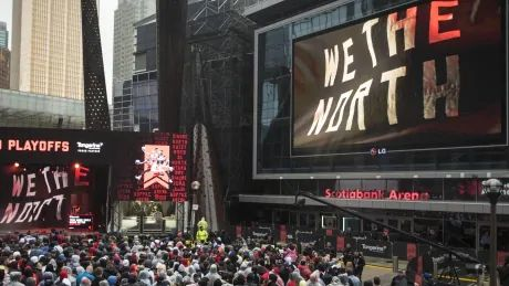 Jurassic Park goes global as Canadian athletes around the world cheer on Raptors