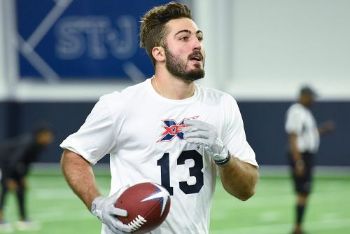 Vinny Papale, son of 'Invincible' main character, seeks his own pro opportunity in XFL