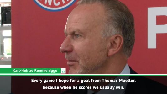 Rummenigge praying for Mueller goal on 100th Champions League appearance