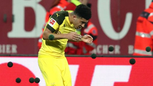 Fans try to disrupt TV broadcast in protest against Monday night Bundesliga games