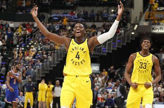 Pacers win seventh straight, 110-99 over Knicks