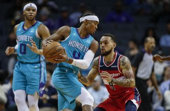 Graham, Hornets survive big night from Wizards' Bertans