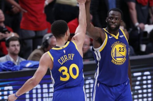 Curry, Green triple-doubles lead Warriors to series sweep over Trail Blazers