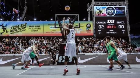Surprising Canada rolls into 3-on-3 basketball World Cup playoffs
