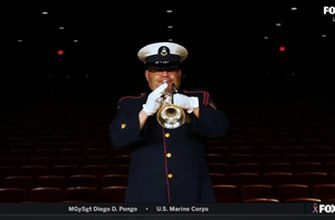 Service men and woman honored before the start of the Coca-Cola 600 | NASCAR on FOX