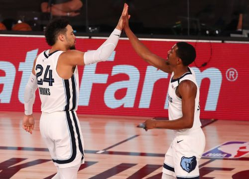 Grizzlies crush Thunder for first win in bubble, strengthen hold on eighth place in West