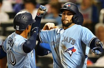 Blue Jays' offense explodes for five homers in 10-3 rout vs. Mets