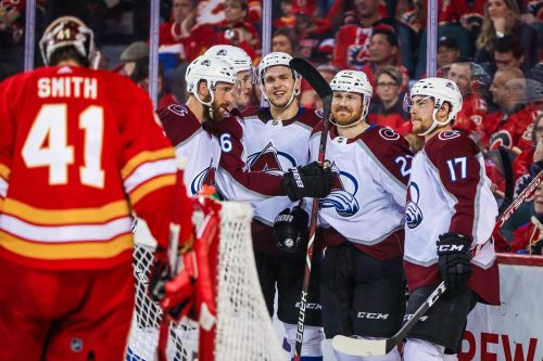 Avalanche knock out top-seeded Flames in five games