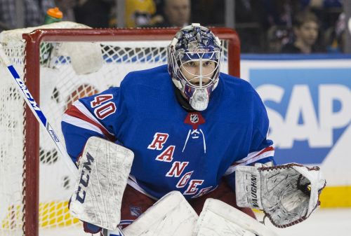 Rangers face grueling choice with developing young goalie