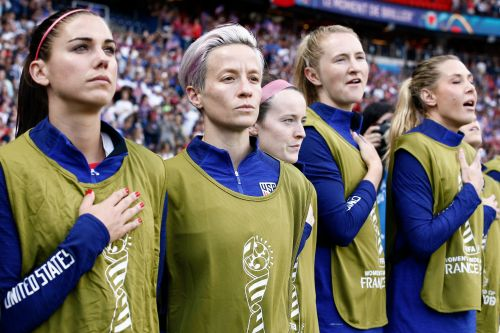 Here's Why Megan Rapinoe Is Protesting During The Anthem At The World Cup