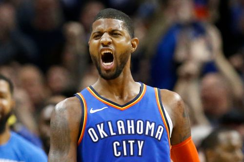 Paul George's last-second floater in double OT propels Thunder