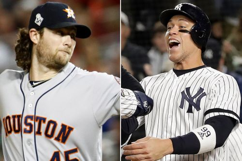 Yankees' Aaron Judge can't contain Gerrit Cole excitement