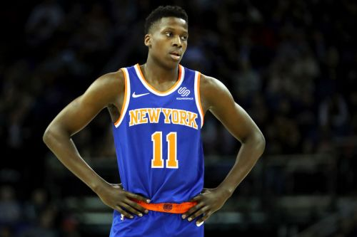 Frank Ntilikina even struggling when it comes to a video-game rating