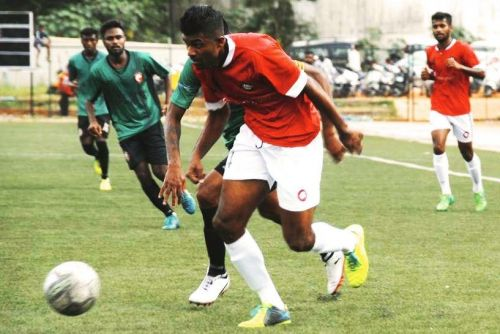 CS Sabeeth: Best Indian striker in 2nd Division I-League sets sights on the ISL