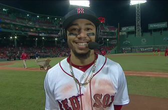 Mookie Betts on stolen base: 'I just wanted some tacos'