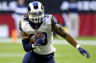 """Rams' McVay: Gurley's workload is """"me not being an idiot"""""""