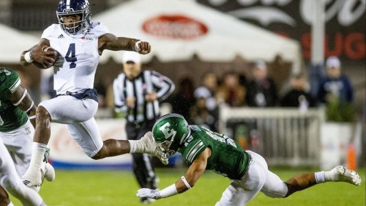 Camellia Bowl: Georgia Southern tops Eastern Michigan 23-21 on Bass' FG