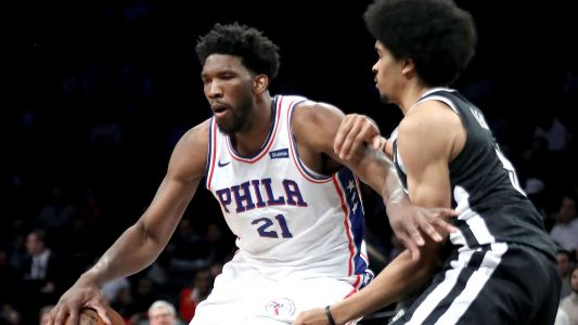 NBA playoffs 2019: Nets angry with 76ers' Joel Embiid for laughing after elbowing Jarrett Allen