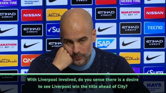It's 'so important' to Klopp to win the Premier League with Liverpool - Guardiola
