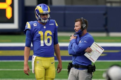 Rams' McVay reflects on good times with Goff