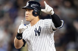 Aaron Judge drives in 2 runs as Yankees crush Red Sox 10-1