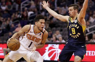In tight race, Suns' Booker pushes into All-Star discussion