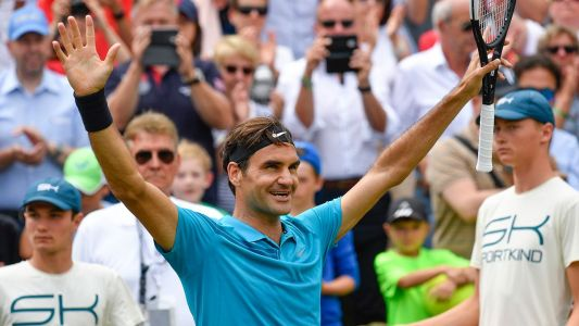 Federer closes in on incredible feat after Stuttgart title