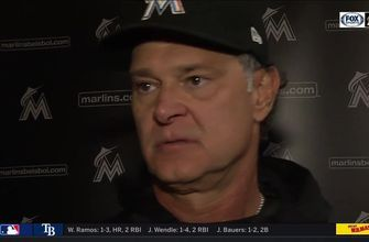Don Mattingly reacts to 9th-inning comeback win over Giants