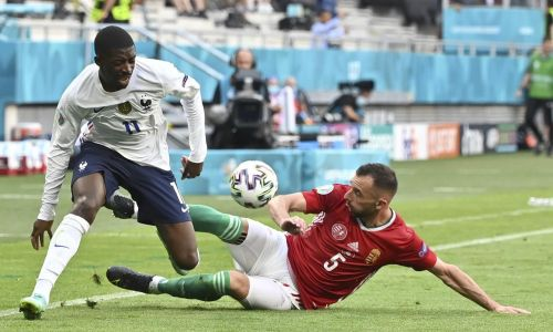 France forward Dembélé out of Euro 2020 with knee injury