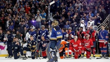 Blues' star Jordan Binnington claims Save Streak crown