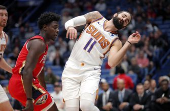 Booker scores season-high 44 points, Suns outlast Pelicans