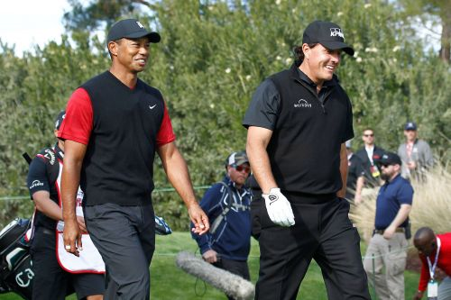 Phil Mickelson hints at Tiger Woods rematch during coronavirus