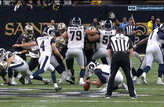 Greg Zuerlein boots 57-yard game winner to send Rams to the Super Bowl