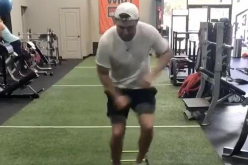Watch: Bengals' Tyler Eifert shows off progress from broken ankle